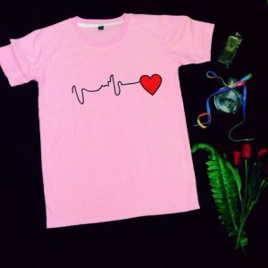 Áo Thun Nữ in hình nhịp tim – SN01-