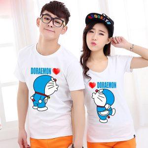 Áo Thun Cặp Doraemon - SN019